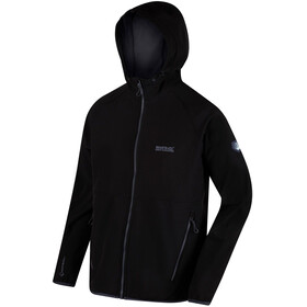 Regatta Arec II Softshell Jacket Men Black/Seal Grey
